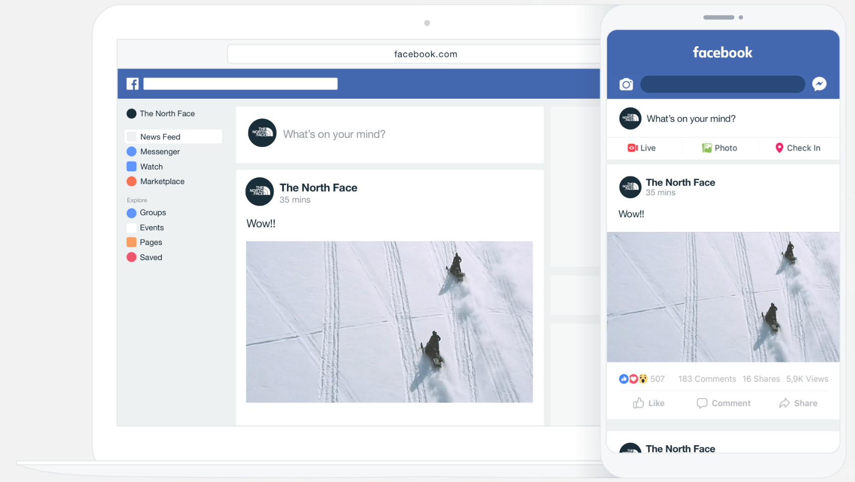 Vimeo publish to social feature
