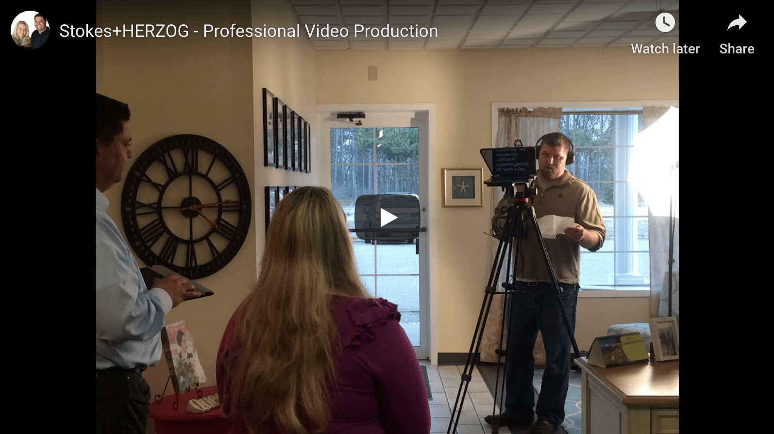 video production by Stokes Herzog in eau claire