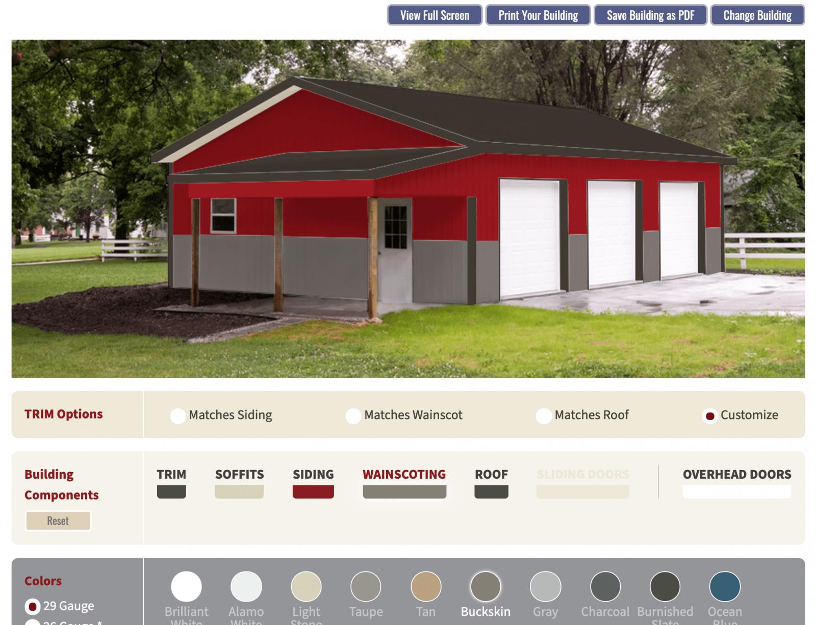 Quality Structures building color visualizer